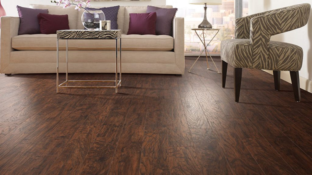 Perfect Laminate Floor with Natural Look